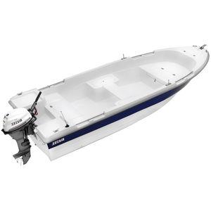 ботик c подвесным мотором / открытый / из стекловолокна / макс. 4 человека