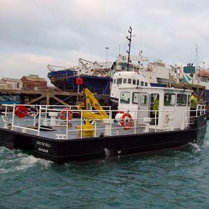 профессиональный катер судно против загрязнения / с внутренним мотором