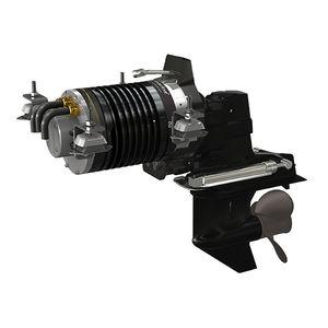 система силовой установки для катера / для профессионального катера / для баржи / с электродвигателем
