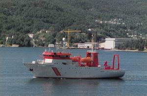 судно для океанографических исследований