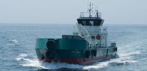полярное очистительное судно