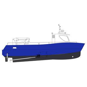 профессиональный катер рабочее судно / коммерческое судно / служебный катер / с внутренним мотором