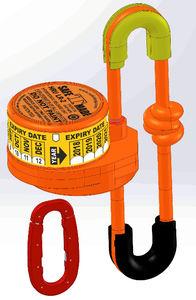 автоматический система швартовки для аварийного радиобуя