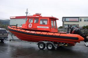 коммерческое судно / c подвесным мотором / надувная лодка с полужестким корпусом