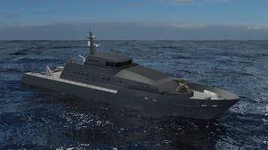 специальное судно для наблюдения offshore