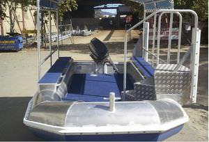 профессиональный катер коммерческое судно / c подвесным мотором / из алюминия