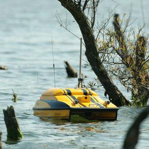 морской беспилотник для измерения параметров окружающей среды / мини-катамаран