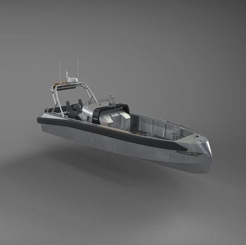 профессиональный катер спасательно-поисковое судно