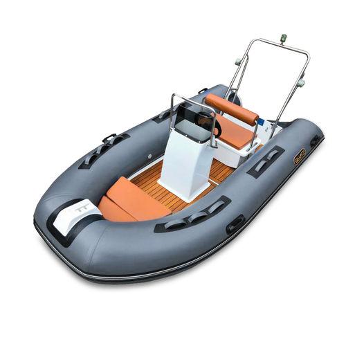 надувная лодка c подвесным мотором / полужесткая / с центральной консолью / вспомогательная шлюпка для яхты