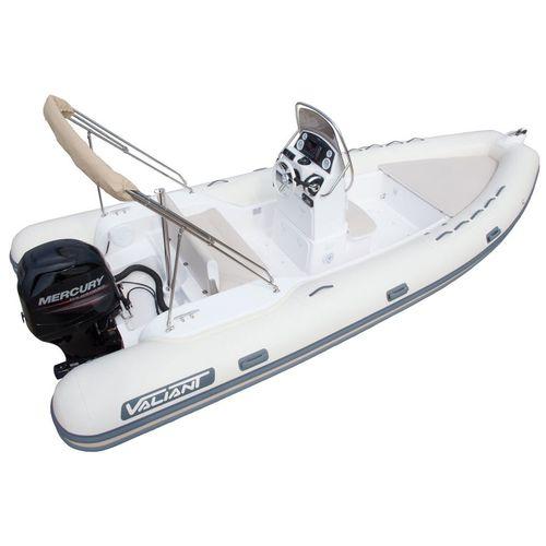 надувная лодка c подвесным мотором / полужесткая / с центральной консолью / макс. 10 человек