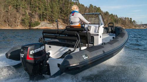 надувная лодка c подвесным мотором / с центральной консолью / с рулевой консолью / макс. 5 человек