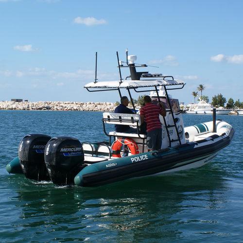 профессиональный катер катер береговой охраны / c подвесным мотором / надувная лодка с полужестким корпусом