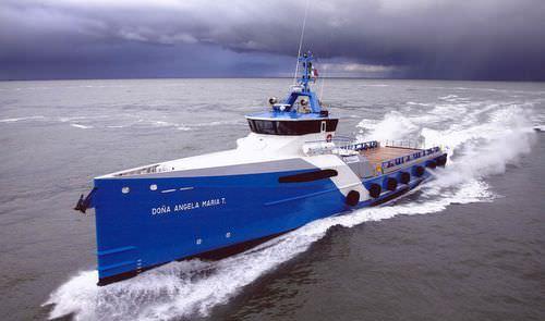 служебное судно для плавания в открытом море транспорта для перевозки персонала / высокоскоростное