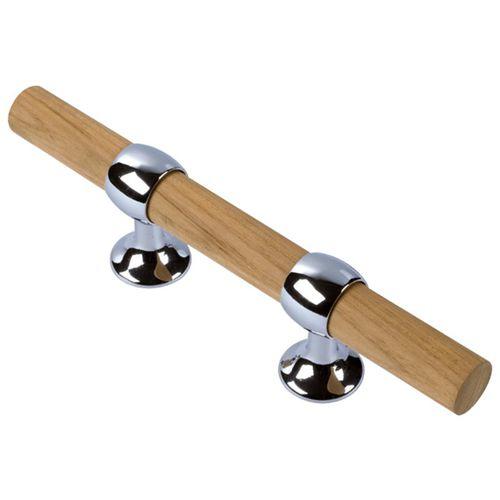 швартовная утка для понтона / плоская / из дерева