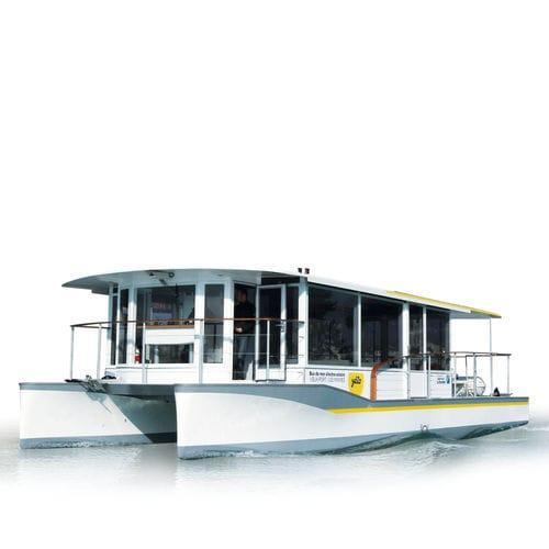 система силовой установки для судна / для катера