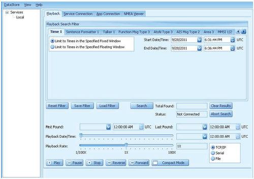 программное обеспечение для наблюдения / отслеживания / AIS / для судна