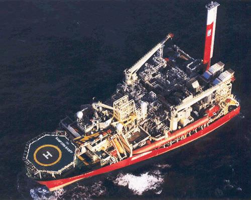 служебное судно для плавания в открытом море плавучая установка для добычи, хранения и отгрузки нефти