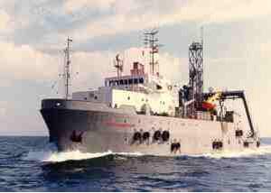 служебное судно для плавания в открытом море обеспечения дайвинга