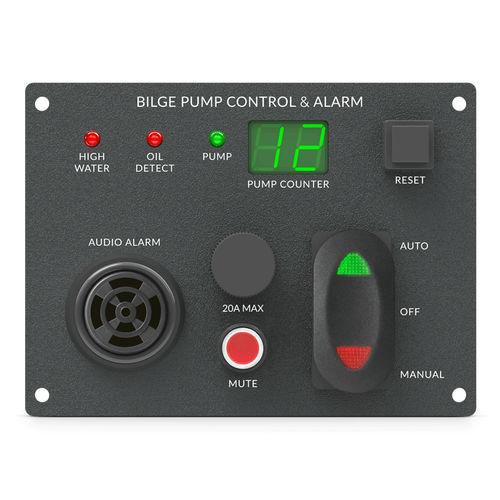 панель управления для катера / для насоса / с сигнализацией