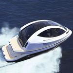 профессиональный катер прогулочный катер / водомет для установки на борту / дизельный / электрический