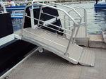 мостки для судна / для баржи / для терминала / ручной