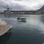 ботик c подвесным мотором / электрический / с боковой консолью / вспомогательная шлюпка для яхты