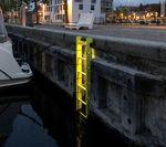лестница для порта / для яхтенной стоянки / фиксированная / для безопасности