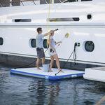 платформа для яхты / для купания / надувная / для посадки на судно