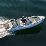 надувная лодка c подвесным мотором / с центральной консолью / спортивная / макс. 14 человек