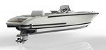 открытый катер с внутренним мотором / с центральной консолью / открытый / вспомогательная шлюпка для яхты
