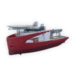 служебное судно для плавания в открытом море для строительных работ