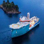 служебное судно для плавания в открытом море для ветряной электростанции