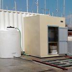система обработки сточных вод / для пресной воды / для трюмной воды / для судна
