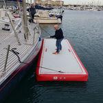платформа для катера / для базы отдыха / надувная / по индивидуальному заказу