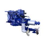 система силовой установки для судна / для катера / гибридная дизель-электрическая