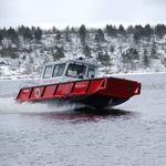пожарный катер / c подвесным мотором