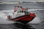 профессиональный катер пожарный катер / с внутренним мотором / из алюминия
