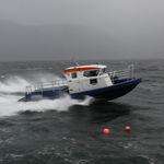 профессиональный катер катер береговой охраны / с внутренним мотором / из алюминия