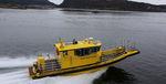 профессиональный катер спасательно-поисковое судно / с внутренним мотором / из алюминия