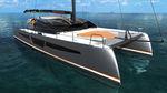 парусная яхта катамаран