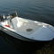 открытый катер c подвесным мотором / с центральной консолью / для спортивной рыбалки / макс. 5 человек