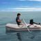 надувная лодка c подвесным мотором / складная / вспомогательная шлюпка для яхты / макс. 2 человека