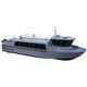 спасательно-поисковое судно / судно для транспортировки персонала / катер для дайвинга / с внутренним мотором
