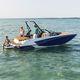 палубная лодка с внутренним мотором / с двойной консолью / для вейкборда / для водных лыж
