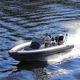 надувная лодка c подвесным мотором / полужесткая / с центральной консолью / макс. 8 человек