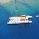 парусная яхта катамаран / чартер / с открытым кокпитом / пассажирская палуба