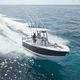 открытый катер c подвесным мотором / двухмоторный / с центральной консолью / для спортивной рыбалки