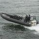 военный катер / c подвесным мотором / надувная лодка с полужестким корпусом
