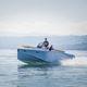 открытый катер вспомогательная шлюпка для яхты / с внутренним мотором / с центральной консолью / открытый