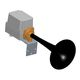 электрический звуковой сигнализатор / для катеров <20 м